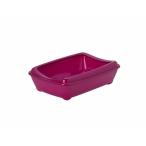 Moderna Туалет-лоток средний с рамкой Artist Medium + rim, 42х30х12см, ярко-розовый (arist-o-tray + rim 42cm medium), 400 г