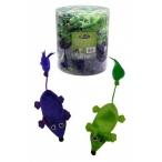 """Papillon Игрушка для кошек """"Плюшевые мышки, зеленые и фиолетовые"""" 60х11см 240057, 20 г"""