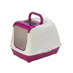 Moderna Туалет-домик Flip с угольным фильтром, 50х39х37см, ярко-розовый, 1,2 кг
