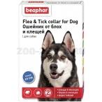 Beaphar Ошейник от блох для собак, синий, 55 г