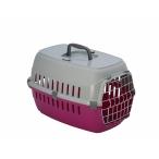 Moderna Переноска Roadrunner с металлической дверцей, 31x51x34, розовый, 1 кг