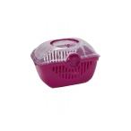 Moderna Переноска-корзинка Toprunner medium 39х29х25, средняя, ярко-розовый, 700 г