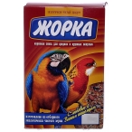 Жорка Для средних и крупных попугаев (коробка), 450 г