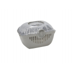 Moderna Переноска-корзинка Toprunner medium 39х29х25, средняя, теплый серый, 700 г