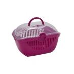 Moderna Переноска-корзинка Toprunner large, 48х36, ярко-розовый, 1,1 кг
