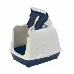 Moderna Туалет-домик Flip с угольным фильтром, 50х39х37см, черничный, 1,2 кг