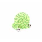 """Papillon Игрушка для кошек """"Мячик"""" с бубенчиком, зеленый, нейлон, 5 см, 20 г"""
