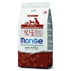 Корм Monge Puppy & Junior Lamb & Rice для щенков, ягненок с рисом и картофелем, 2.5 кг