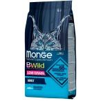 Корм Monge BWild Anchovies (низкозерновой) для кошек, с анчоусами, 1.5 кг