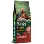 Корм Monge BWild Lamb, Potatoes & Peas (беззерновой) для собак, ягненок, картофель и горох, 12 кг