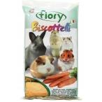 Fiory бисквиты для грызунов Biscottelli с морковью 30 г