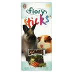 Fiory палочки для кроликов и морских свинок Sticks с овощами 2х50 г