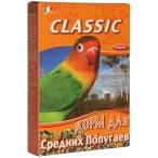 Fiory корм для средних попугаев Classic, 400 г