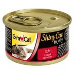 Корм Gimcat ShinyCat с цыпленком в желе, 70 г