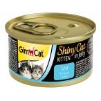 Корм Gimcat ShinyCat Kitten для котят с тунцом в желе, 70 г