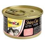 Корм Gimcat ShinyCat Kitten для котят с цыпленком в желе, 70 г