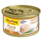 Корм Gimdog Little Darling Pure Delight с цыпленком в желе, 85 г