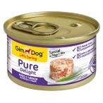 Корм Gimdog Little Darling Pure Delight с цыпленком и тунцом в желе, 85 г