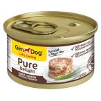 Корм Gimdog Little Darling Pure Delight с цыпленком и говядиной в желе, 85 г