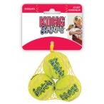 """Kong игрушка для собак Air """"Теннисный мяч"""", средний (6 см), упаковка 3 шт"""