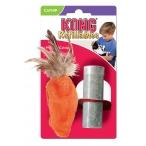 """Kong игрушка для кошек """"Морковь"""", плюш"""