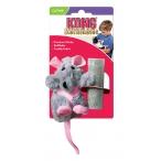 """Kong игрушка для кошек """"Крыса"""", плюш"""