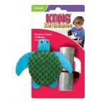 """Kong игрушка для кошек """"Черепашка"""" 7 см, плюш"""