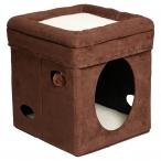 Midwest домик для кошек Currious Cat Cube 38,4х38,4х42h см