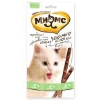 Мнямс лакомые палочки для кошек, с уткой и кроликом, 13.5 см, 3 шт х 5 г