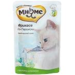 Корм Мнямс Фрикасе по-Парижски (консерв.) для кошек, кролик с травами, 85 г