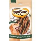 Мнямс Мясные спиральки для собак, ассорти, для чистки зубов, 6 шт х 20 г