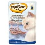 Корм Мнямс Катаплана по-португальски (консерв.) для кошек, с форелью, 85 г