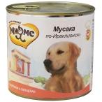Корм Мнямс Мусака по-Ираклионски (консерв.) для собак, ягненок с овощами, 600 г