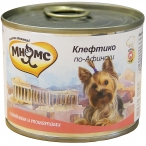 Корм Мнямс Клефтико по-Афински (консерв.) для собак, ягненок с томатами, 200 г