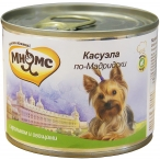 Корм Мнямс Касуэла по-Мадридски (консерв.) для собак, кролик с овощами, 200 г