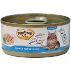 Корм Мнямс (в желе) для кошек, тунец и креветки, 70 г