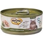 Корм Мнямс (в желе) для кошек, тунец с макрелью, 70 г