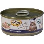 Корм Мнямс консервы для кошек Тунец с дорадо в нежном желе, 70 г