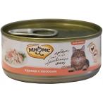 Корм Мнямс (в желе) для кошек, курица с лососем, 70 г