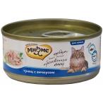 Корм Мнямс (в желе) для кошек, тунец с анчоусами, 70 г