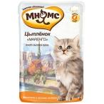 """Корм Мнямс Цыпленок """"Маренго"""" (консерв.) для котят, с цыпленком и лесными ягодами, 85 г"""