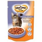 Корм Мнямс Чувствительное пищеварение  (в соусе) для кошек, с ягненком, 100 г