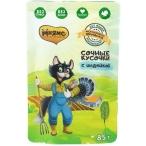Корм Мнямс Фермерская ярмарка (консерв.) для кошек, с индейкой, 85 г