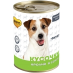 Корм Мнямс Фитнес (в соусе) для собак, с кроликом, 400 г