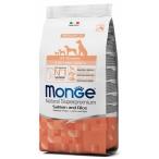Корм Monge Puppy & Junior Salmon & Rice для щенков, лосось с рисом, 2.5 кг
