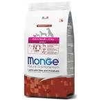 Корм Monge Extra Small Lamb, Rice & Potatoes для взрослых собак миниатюрных пород, ягненок с рисом и картофелем, 2.5 кг