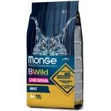 Корм Monge BWild Hare (низкозерновой) для кошек, с мясом зайца, 1.5 кг