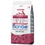 Корм Monge Monoprotein Beef & Rice для собак, говядина с рисом, 2.5 кг