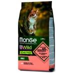 Корм Monge BWild Salmon & Peas (беззерновой) для кошек, лосось и горох, 1.5 кг