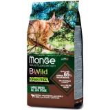 Корм Monge BWild Buffalo Large Breeds (беззерновой) для кошек крупных пород, с мясом буйвола, 1.5 кг